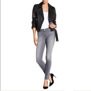 7 For All Mankind Gray Ankle Gwenevere Jeans